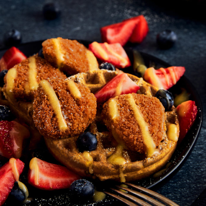 Field Roast Nuggets And Waffles