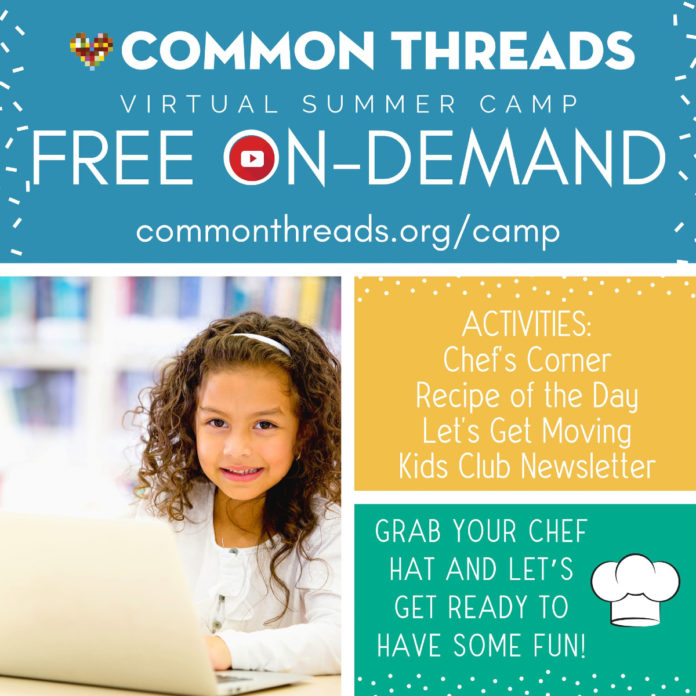 Common Threads Virtual Summer Camp