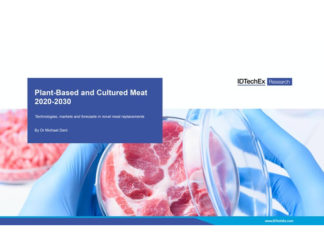 Plant Based And Cultured Meat 2020 2030