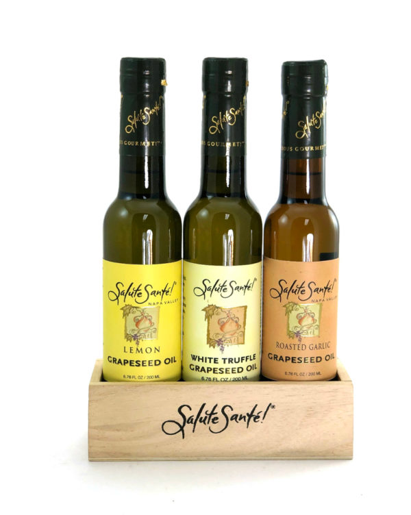Salute Sante Infused Grapeseed Oil