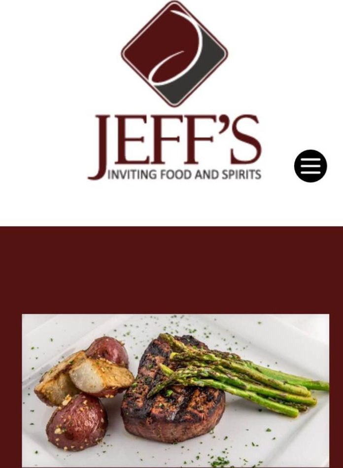 Jeff's Inviting Food And Spirits Logo