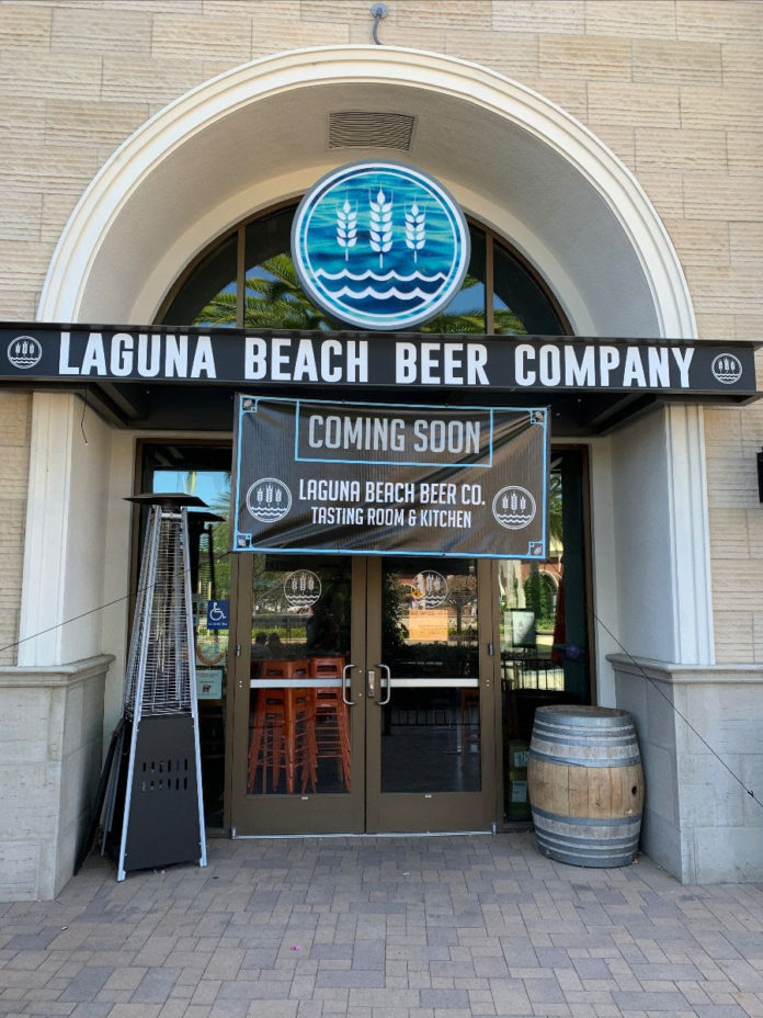 Laguna Beer Co Huntington Beach Facade