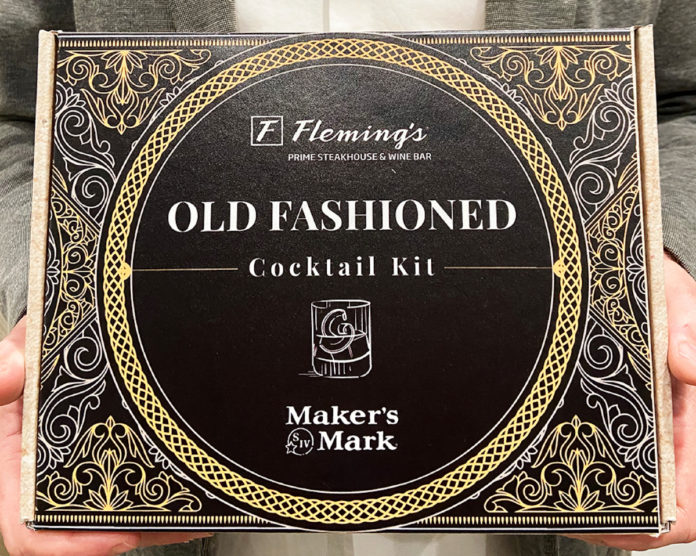 Fleming's Steakhouse Old Fashioned Kit