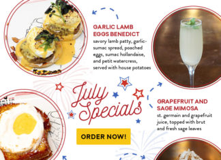 July Specials Rise And Shine
