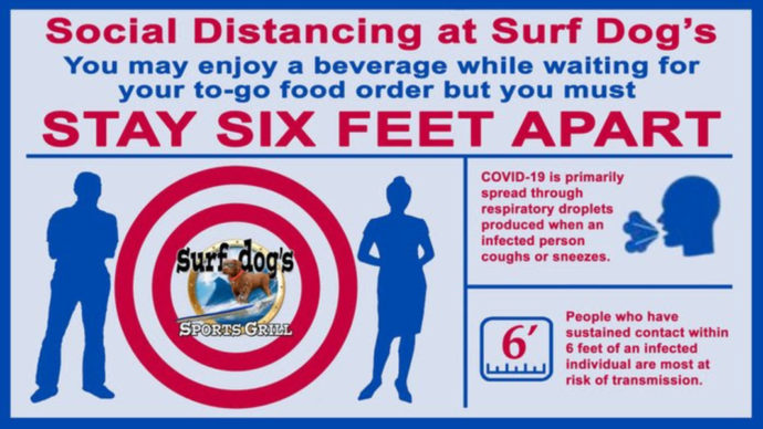 Suf Dog Social Distancing