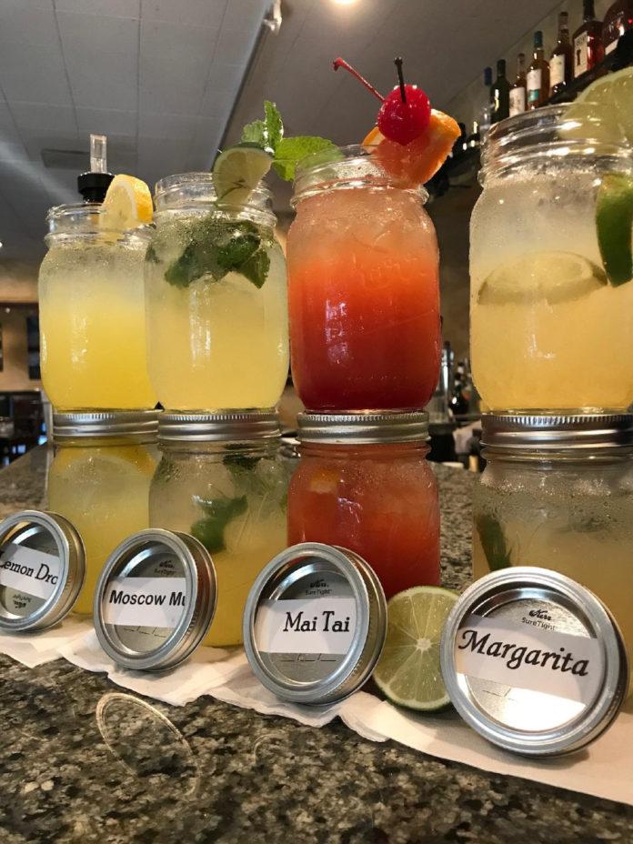Jack's Restaurant Mason Jar Cocktails