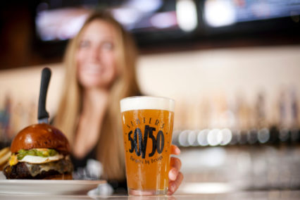 Celebrate International Beer Day with BOGO Beer @ Slater's 50/50 - Huntington Beach