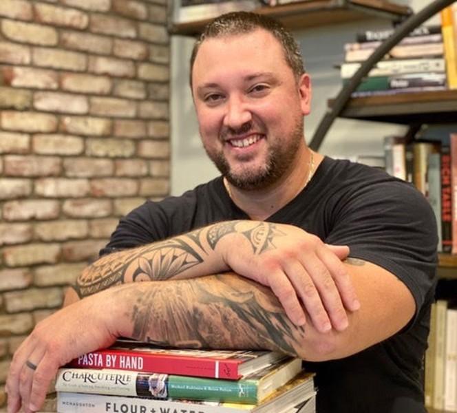Chef Jonathan Blackford