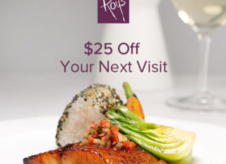Roys Restaurant $25 Off