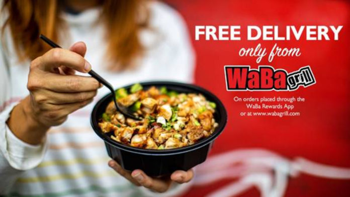 WaBa Grill Free Delivery