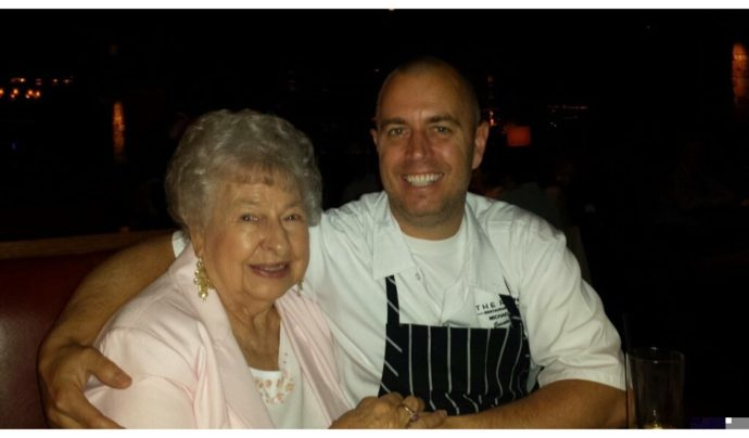 Grandma Rossi With Michael Rossi