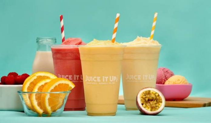Juice It Up New Menu