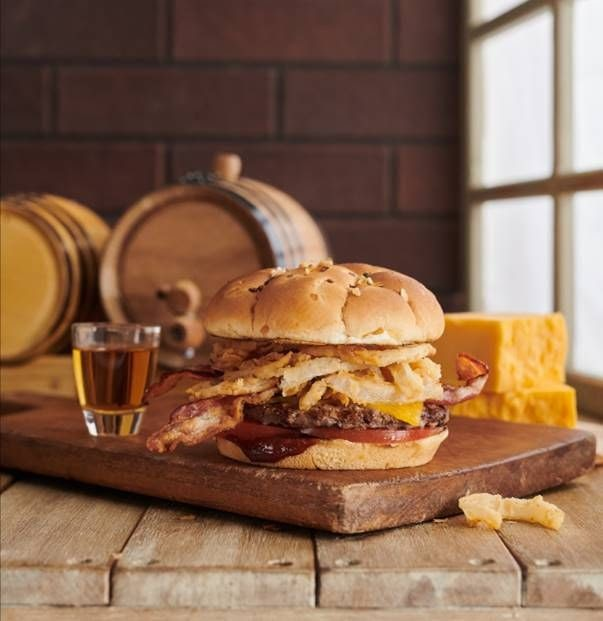 Bourbon Bacon Cheddarburger