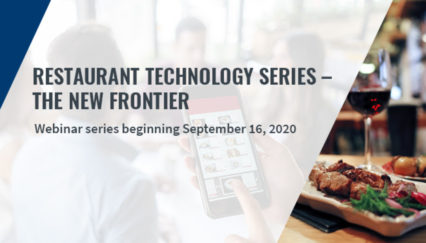 Restaurant Technology Webinar Series - The New Frontier @ Virtual Event