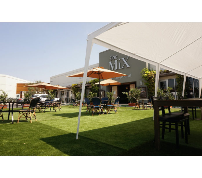 The OC Mix Outdoor Dining