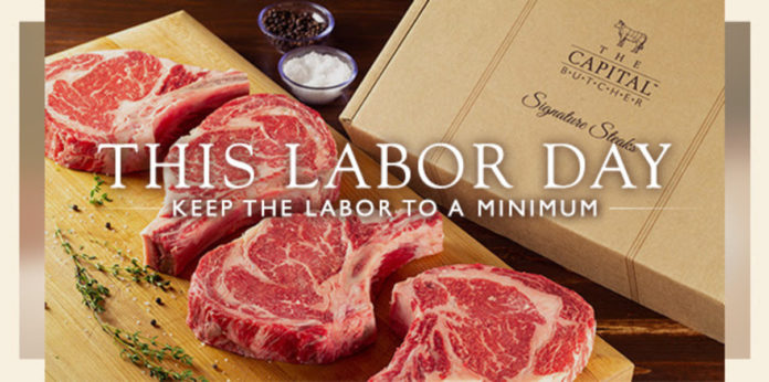 Capital Grille Labor Day Box