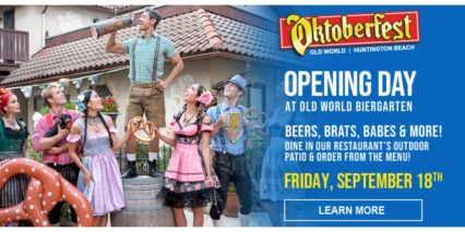 Oktoberfest Opening Day Countdown @ Old World German Restaurant & European Market - Huntington Beach | Huntington Beach | California | United States