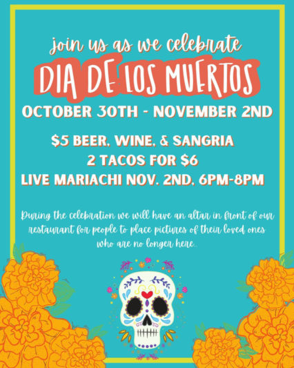 Celebrate Dia de los Muertos @ Plancha Latin Kitchen | Long Beach | California | United States