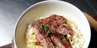 Open Gate Steak And Rice
