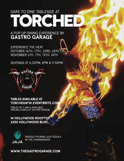 Torched - Lighting up the Sky @ The W Hollywood | Los Angeles | California | United States
