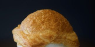 Mushroom And Puff Pastry Soup