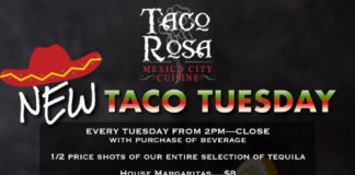 Taco Rosa Happy Hour