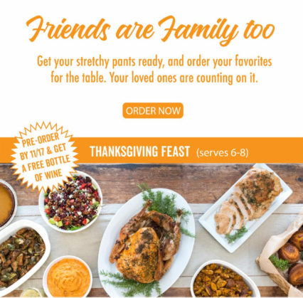 Pre-Order Thanksgiving Feast @ Greenleaf Gourmet Chopshop - Costa Mesa | Costa Mesa | California | United States