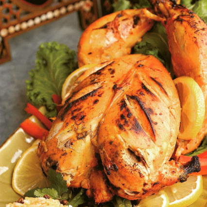 Thanksgiving Tandoori Turkeys