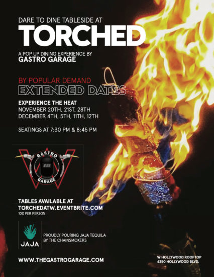 Torched - Lighting Up the Rooftop @ The W Hollywood | Los Angeles | California | United States