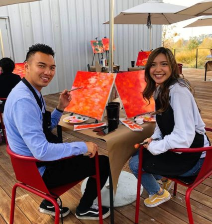 Join Mess Hall Market for Painting & Sip—You'll be on Cloud Wine! @ Mess Hall Market - Tustin | Irvine | California | United States