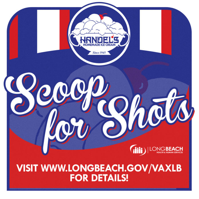 Long Beach Free Scoop for vaccine Shots