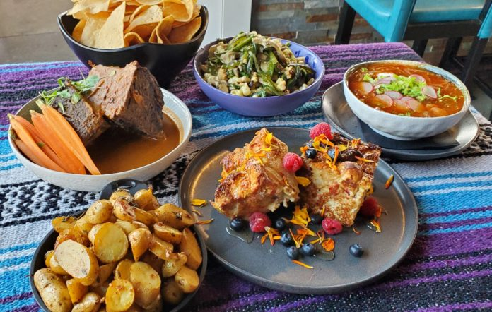 Family Holiday Feast Descanso Dec 2020
