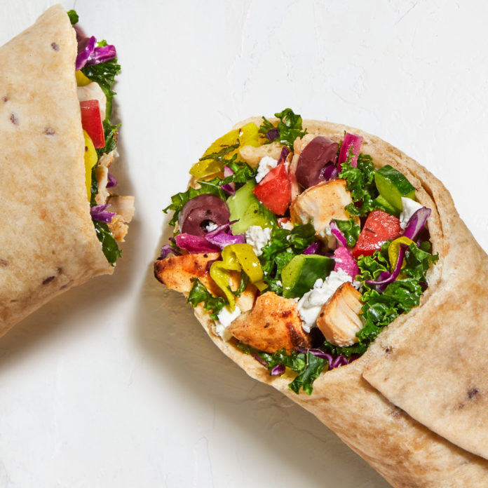 Luna Grill Modern Greek Wrap